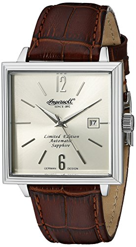 Ingersoll Men's IN1005CH Desalines Analog Display Automatic Self Wind Brown Watch