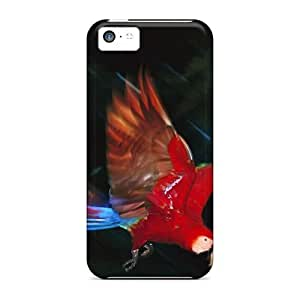 Awesome Design Macaw Hard Case Cover For Iphone 5c