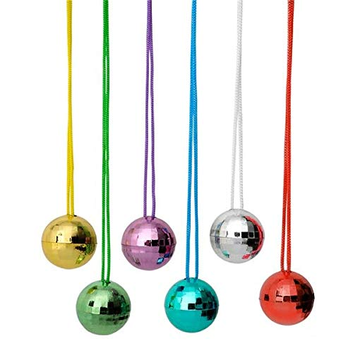 Plastic Metallic Ball Chain - Rhode Island Novelty 1.5
