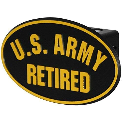 US Army Retired ABS Hitch Cover with Quick ()