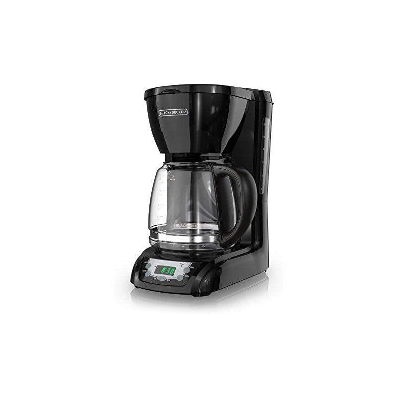 BLACK+DECKER 12-Cup Programmable Coffeem