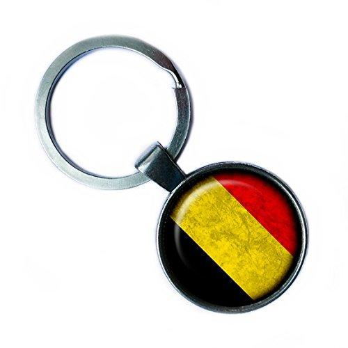 Belgium Flag Keyring