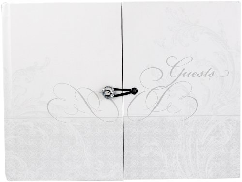 Hortense B. Hewitt Wedding Accessories Gatefold Guest (Wedding Guest Book And Pen Set)