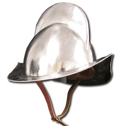 Spanish Comb Morion Boat Medieval Helmet Replica - 20 Gauge Steel]()