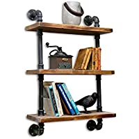 NACH qa-1006 3 Shelves Industrial Shelf with Pipe Tubing