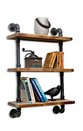 NACH qa-1006 3 Shelves Industrial Shelf with Pipe Tubing by NACH