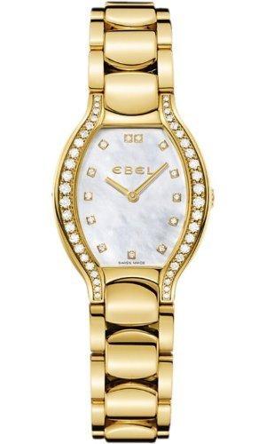 Ebel Beluga Tonneau Ladies Yellow Gold Diamond Watch 8956P28/991050