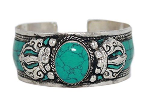 Boho Bracelet Turquoise Bracelet Nepal Cuff Bracelet Tibetan Bracelet Nepal Bracelet Tibet Bracelet BB274 (Bracelet Lapis Turquoise)