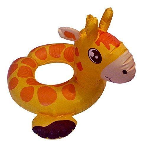 Inflatable Kids Pool Split Ring Float Giraffe