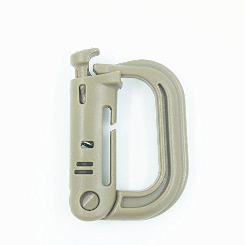 Grimloc Super Strong Molded Polymer Clip Carabiner