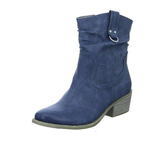 Marco Tozzi 2-25311-30 822 Damen Western Stiefelette Kaltfutter Blau (Blau)