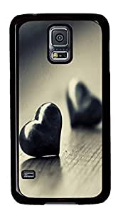 Samsung S5 underwater cases Love Heart Pics PC Black Custom Samsung Galaxy S5 Case Cover