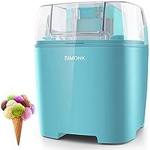 Ice Cream Maker with Detachable Frozen Bowl and Auto Shut-off Timer, 1.5 Quart, BPA Free, Electric ice Cream Machine for Kids DIY Frozen Yogurt, Gelato Or Sorbet Maker