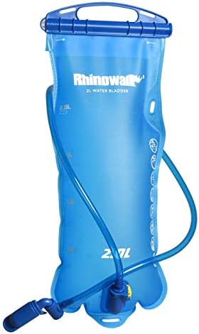 Huntvp Hydration Bladder 2 Liter Leak Proof Water Bladder for Hydration Pack BPA Free Hydration Water Pouch Water Reservoir for Hiking Walking Cycling
