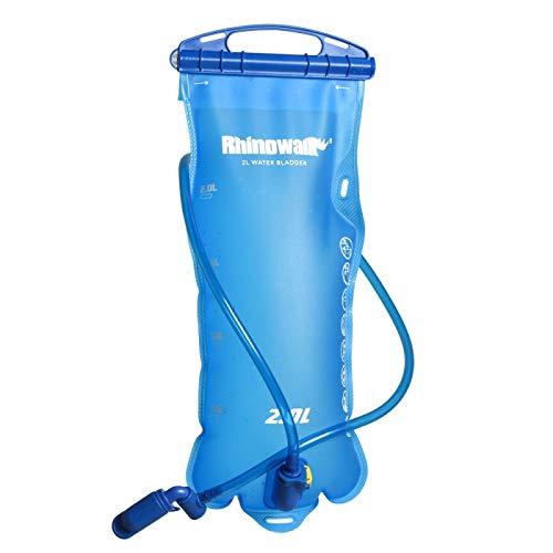 Huntvp Hydration Bladder 2 Liter Leak Proof Water Bladder for Hydration Pack BPA Free Hydration Water Pouch Water Reservoir for Hiking Walking Cycling