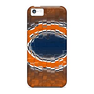 Durable Hard Cell-phone Case For Iphone 5c (inu19640aajd) Provide Private Custom Beautiful Chicago Bears Pattern