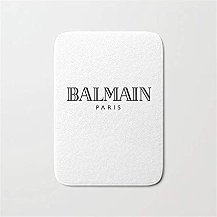 free shipping wholesale outlet high fashion Amazon.com: Balmain Doormat Bath Door Mat (16