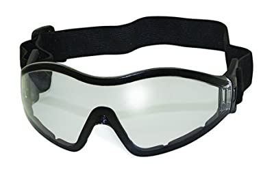 Z33 Motorcycle Skydiving Airsoft Goggle Low Profile Anti Fog Clear Lens Plus Storage Bag Global Vision