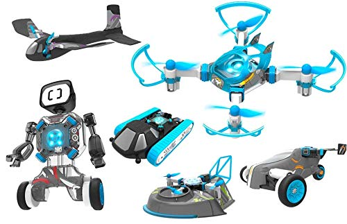 RC RC RC TECNIC 6 Toys in 1 Build 6 Smart Vehicles Flight