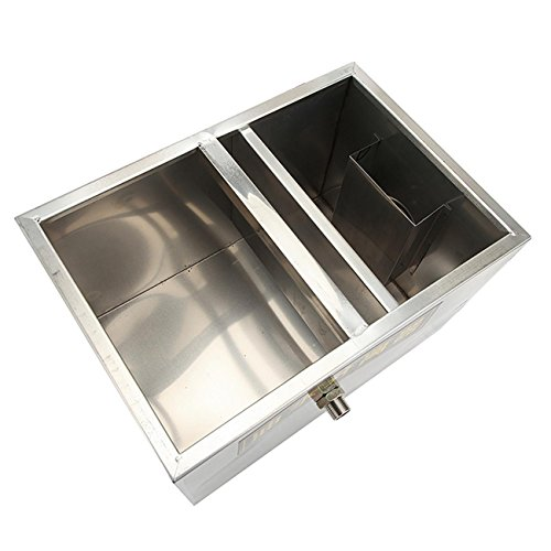 BEAMNOVA Commercial Grease Trap 8lbs 5GPM Gallons Per Minute Stainless Steel Interceptor for Restaurant Kitchen by BEAMNOVA (Image #4)