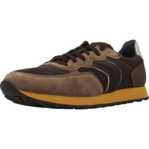Geox Herren U Vincit B Sneaker Braun (Chocolate/Dk Coffee C6k6t)