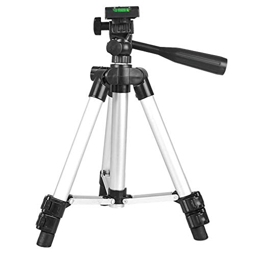 - Lightweight Camara Tripod, Portable Digital Camcorder Travel Tripod Stand With Aluminum 3-Section Leg and ABS Parts 3-way 360 Degree, for Canon, Nikon, Sony