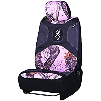 Browning Pink Camo Lowback Seat Cover