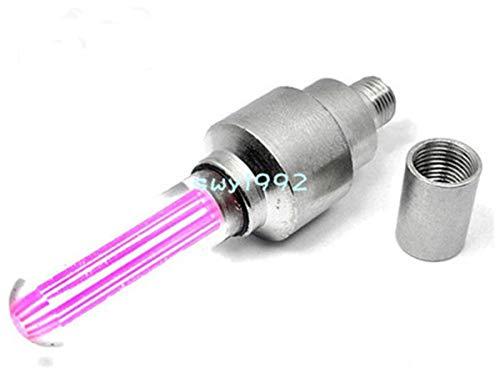 Billion Deals Wholesale 4pcs Pink Mix LED Flash Light Neon Lamp Night Bike Car Tire Tyre Wheel Valve Caps, Free & Drop Shipping ()