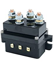 12V 500A Winch Contactor Solenoid Relay Fit for 8000lbs-15000lbs ATV UTV Truck 4WD 4x4 Winch Replacement