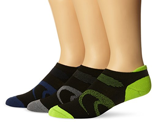 ASICS Intensity Single Tab Socks , Large, Black Assorted