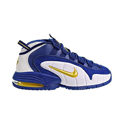 Nike Air Max Penny Men's Shoes Deep Royal/Amarillo White 685153-401 (13 D(M) US)