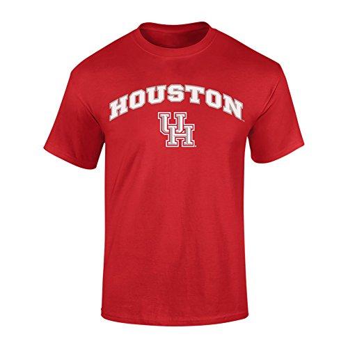 Houston Cougars TShirt Arch Scarlet - L
