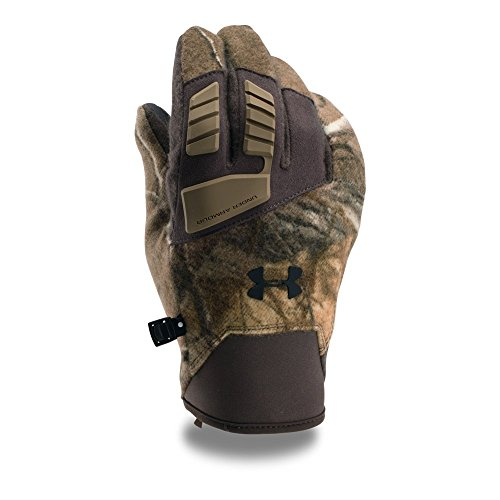 Under Armour Men's Speed Freek Wool Gloves, Realtree Ap-Xtra (946)/Black, X-Large