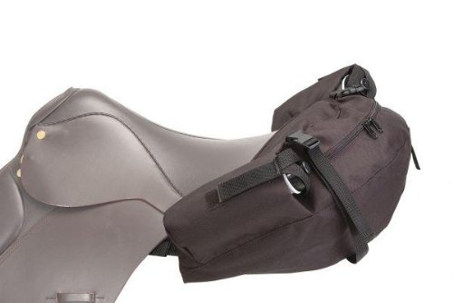 Tough-1 English Nylon Saddle Bag