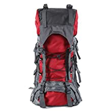Leisure High Capacity Outdoor Bag Backpacks Capacity 75L Color Optional,Red