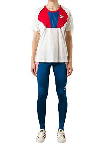 Adidas Originals Women's Archive Series Running T-Shirt-White/Red