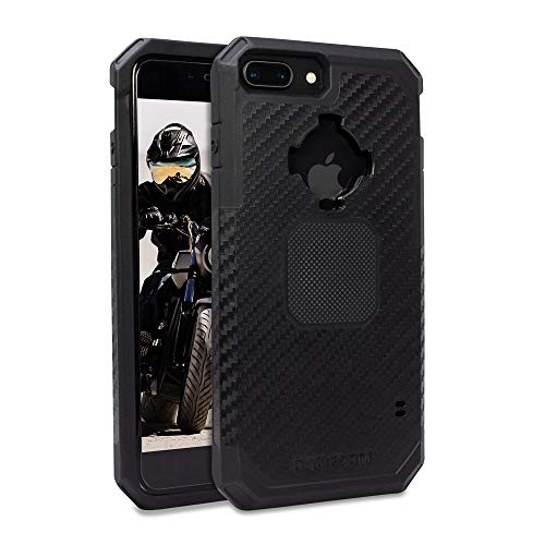 Rokform Rugged [iPhone 8/7/6/6s PLUS] Military Grade Magnetic Protective Case with Twist Lock - Black
