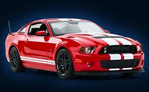 Radio Remote Control 1/14 Ford Mustang Shelby GT500 RC Model Car (Red) ()
