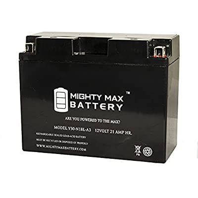 Y50-N18L-A3 Snowmobile Battery for Arctic Cat Mountain Cat 800 2003 - Mighty Max Battery brand product