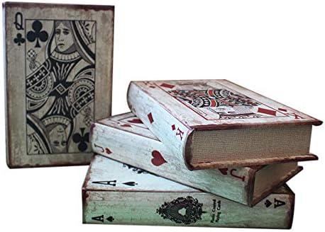 SQbjshaop Decoracion Naipes Americanos Antiguos, Patrones, Libros ...