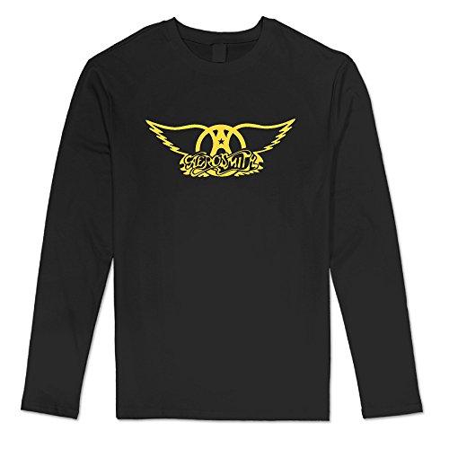 Virginia Men's Aerosmith Classic Band Logo Black Long -
