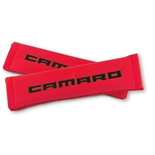 Camaro Seatbelt Harness Pad (Red with Black) Camaro Harness