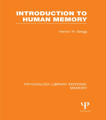 Introduction to Human Memory (PLE: Memory): Volume 8 (Psychology Library Editions: Memory) Pdf