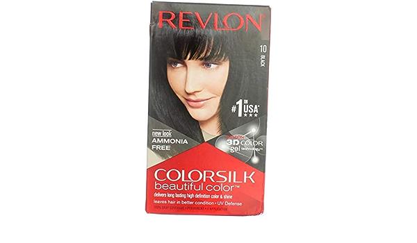 Revlon - Tinte Sin Amoniaco Colorsilk Revlon Negro