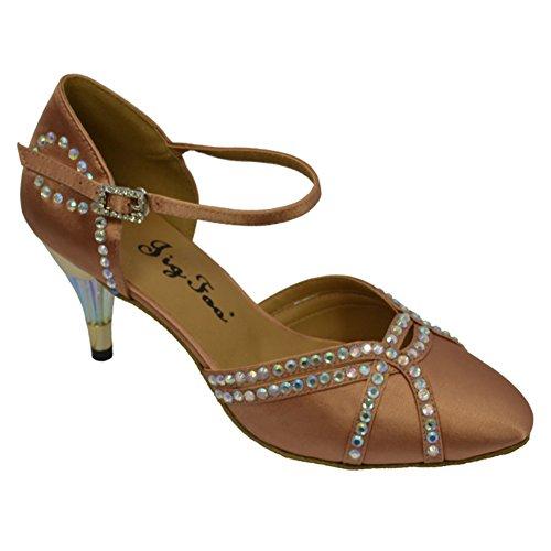 de De baile C modernos diamante del zapatos Señora baile Zapatos del wBXExIUqv