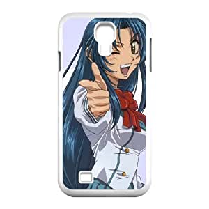 Samsung Galaxy S4 9500 Cell Phone Case Covers White full Metal Panic Fumoffu SA9739565
