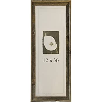 this item frame usa 17071 barnwood picture frames 12 x 36