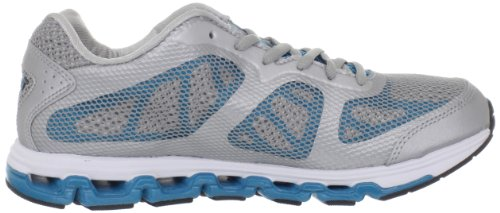 AVIA Womens CC Tech Running Shoe Chrome Silver/Star Lake Blue/Black d4Zh1xR