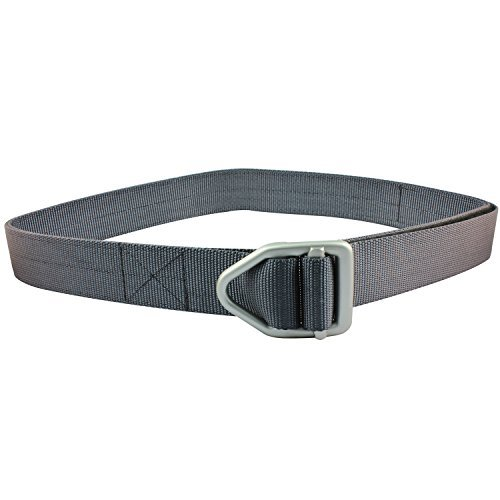 Bison Last Chance Hvy Duty Belt - Gunmetal Buckle - Graphite - Buckle Belt Design