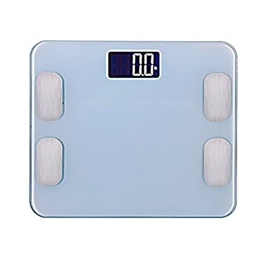 A8POWER wireless bluetooth body weight digital & electronic Scale/Fat Test/LCD Display/iPhone & Samsung/IOS & Android
